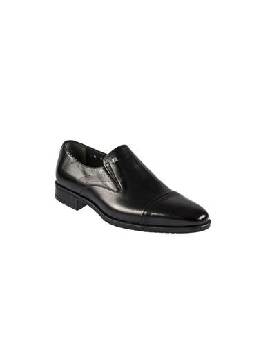 Fosco 7544 Termo Taban Siyah Erkek (39-45) Klasik Ayakkabı Siyah
